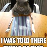 Dissatisfied at the table